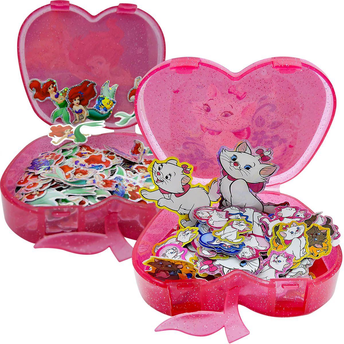 400 Adesivos Mais Porta Adesivos Princesas Disney