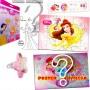 Sacolinha Divertida  Bela com Anel Princesas Disney - OMEGA TOYS