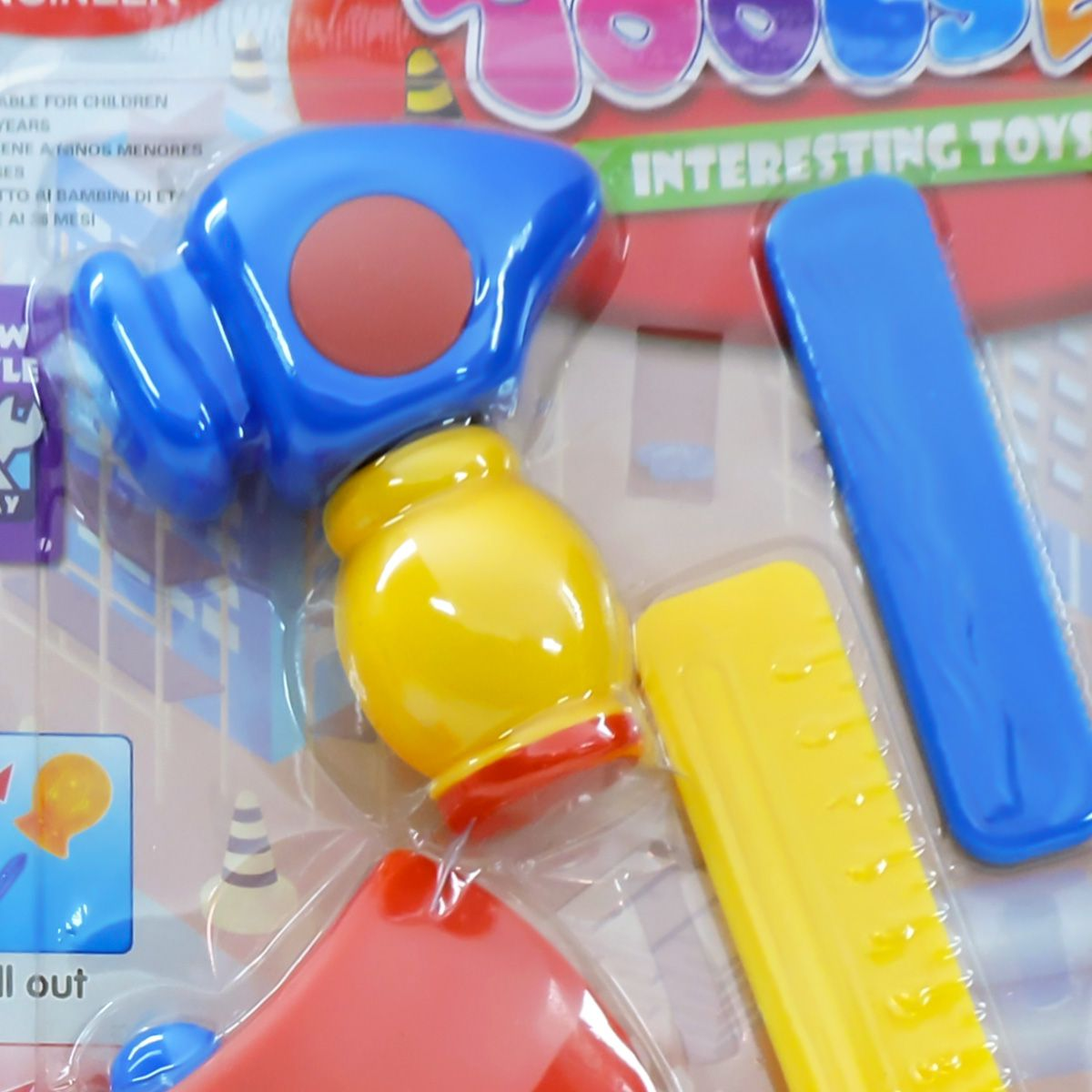 Kit Ferramentas De Brinquedo Infantil 13 Peças