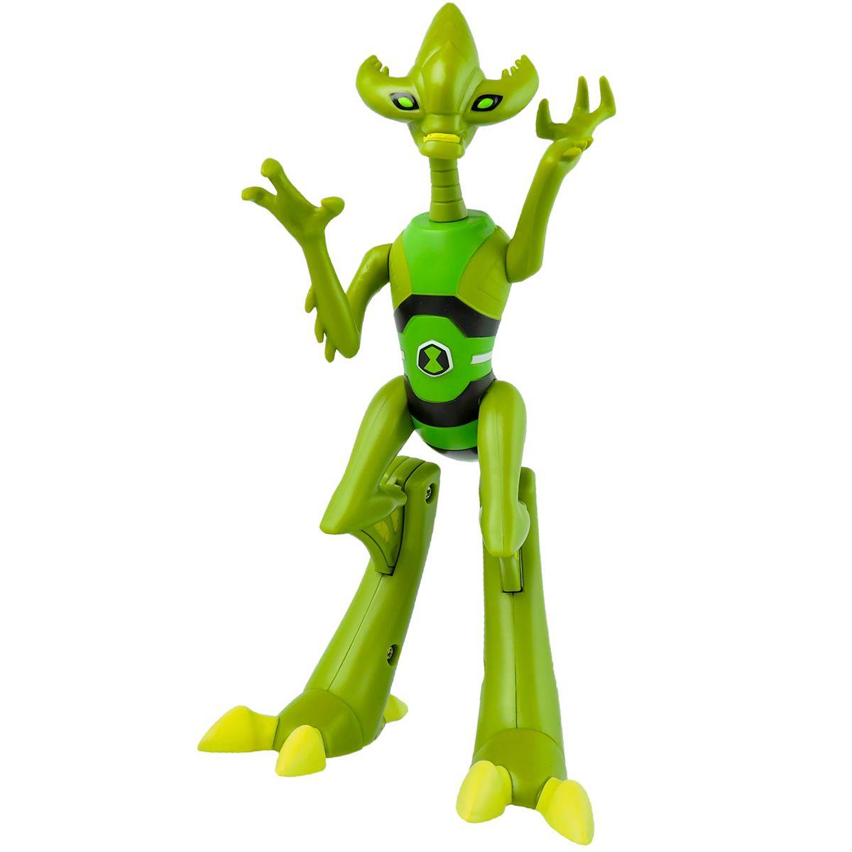 Boneco Figura de Ação Crashhopper Ben 10 Articulado Sunny