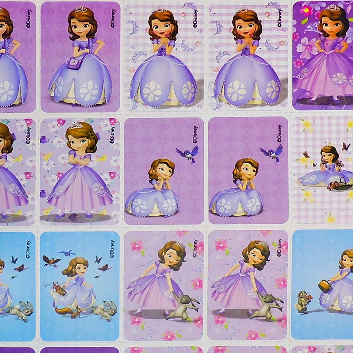Jogo Da Memoria Princesa Sofia Cartonado Destaque E Brinque
