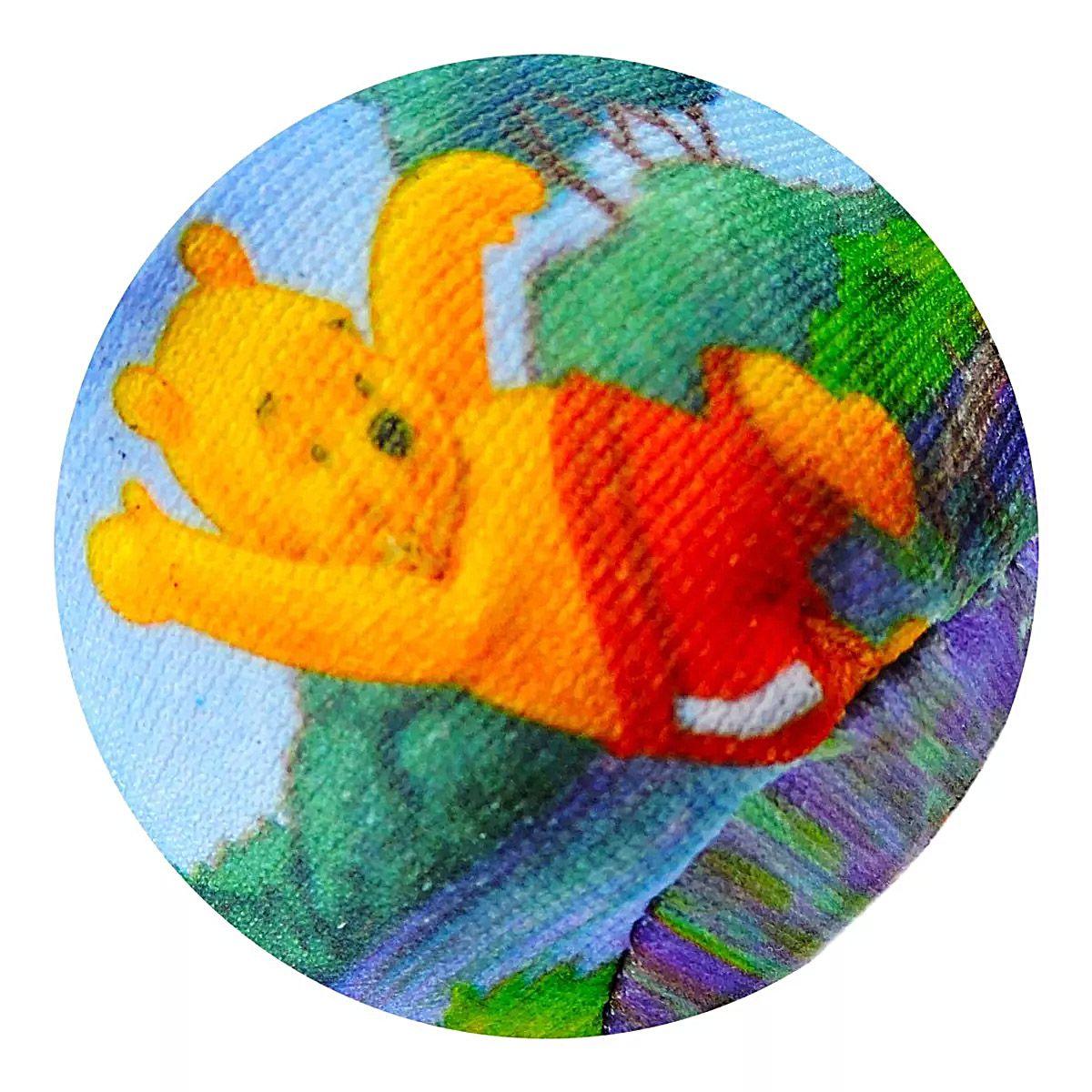 Pooh Estilingue Lançador de Bolinhas Macias Disney - Toyng