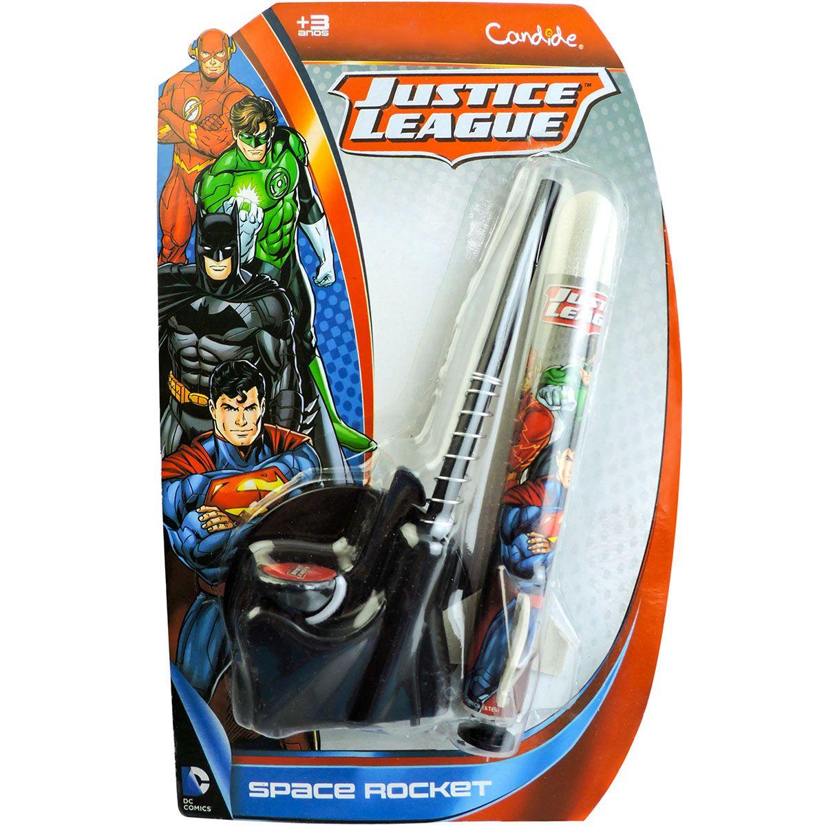 Lançador De Foguete Liga Da Justiça Space Rocket - Candide
