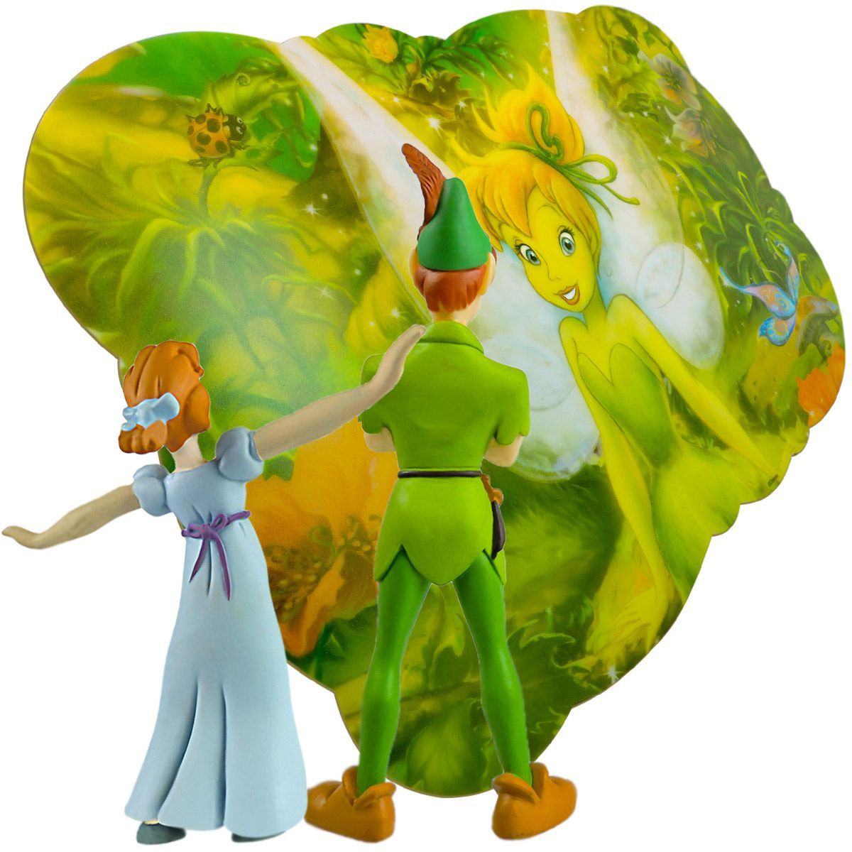 Peter Pan e Wendy em Miniatura mais Jogo Americano Tinker Bell