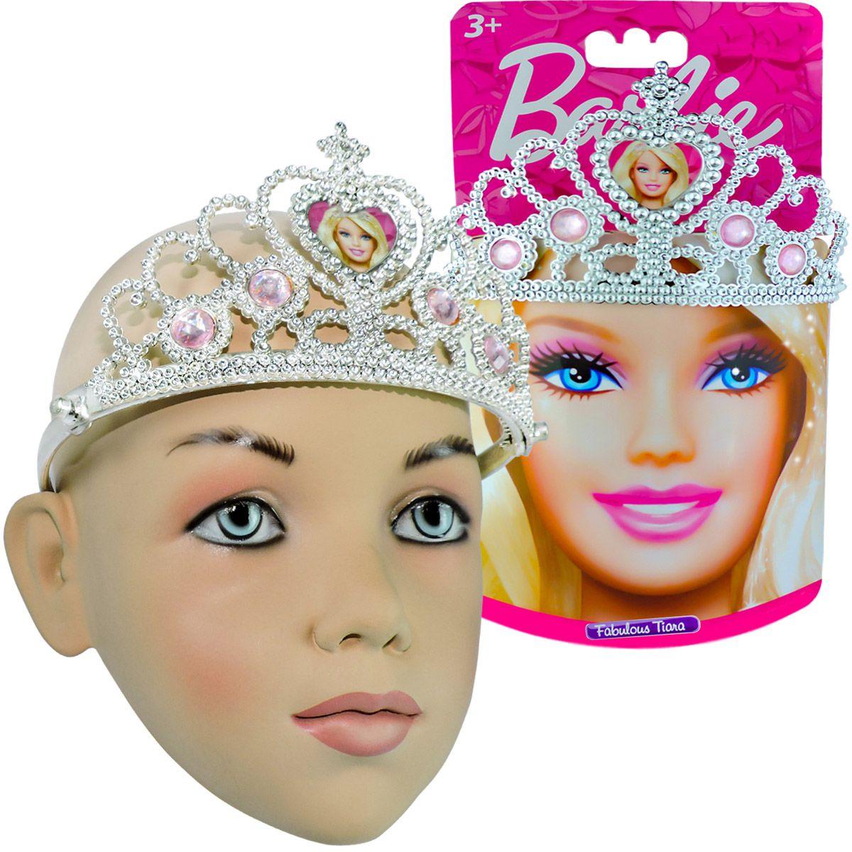 Barbie Coroa de Princesa Infantil Intek