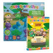 Combo Os Pequerruchos Kit Areia de Modelar + DVD Safari