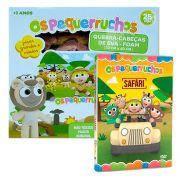 Combo Os Pequerruchos Quebra cabeça + DVD Safari