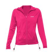 Jaqueta Feminina Running CLN Divoks com Proteção UV Pink