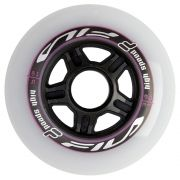 Kit de Rodas Fila White/Magenta 6X90MM (6un)