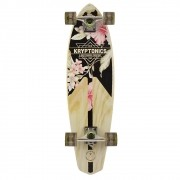 Mini Longboard Kryptonics Classic Floral 32""