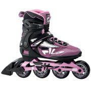 Patins Fila Skates Inline Legacy Pro 80 Lady Com rolamentos Abec 5