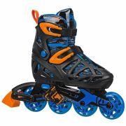 Patins Infantil Inline Roller Derby Tracer Boy Ajustável