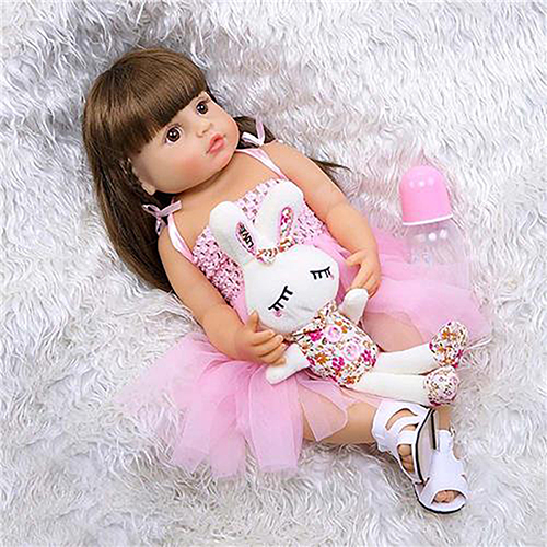 Boneca Bebê Reborn Laura Baby Adrianne