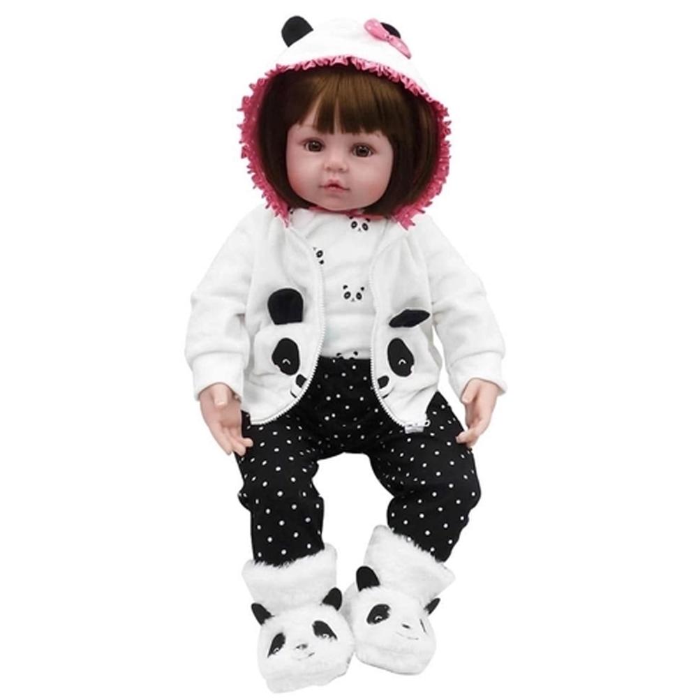 Boneca Bebê Reborn Laura Baby Babi