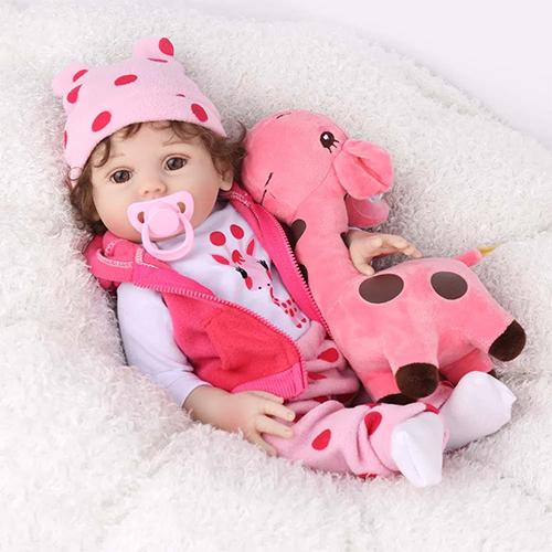 Boneca Bebê Reborn Laura Baby Emily