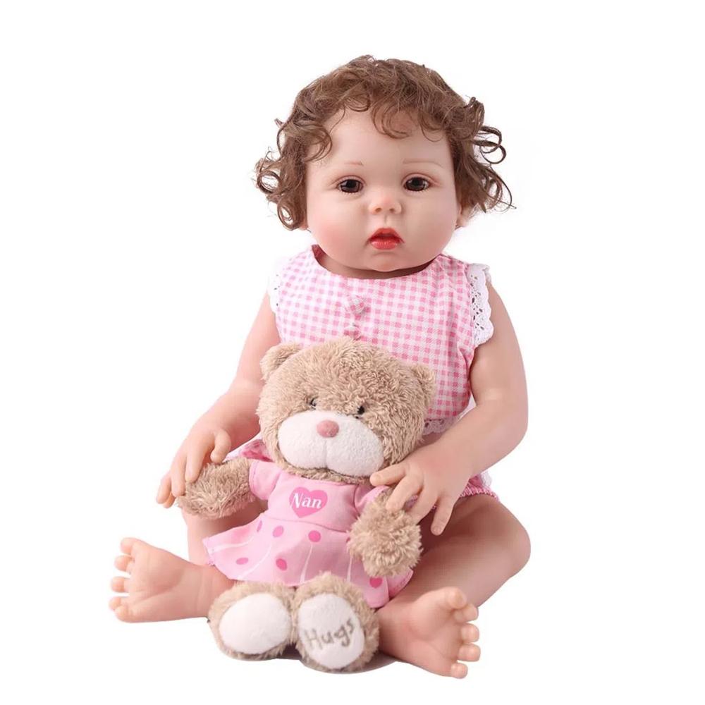 Boneca Bebê Reborn Laura Baby Larissa