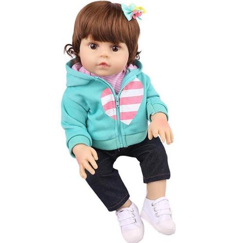 Boneca Bebê Reborn Laura Baby Maya