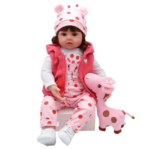 Boneca Bebê Reborn Laura Baby Valentina