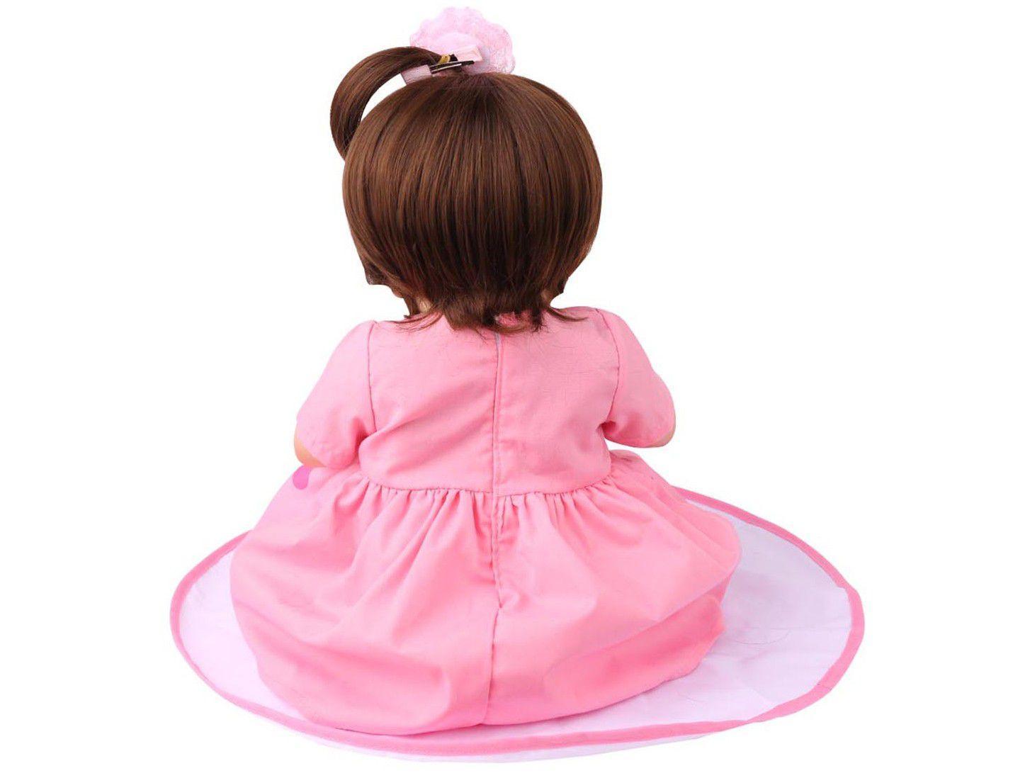 Boneca Bebê Reborn Laura Baby Vivi