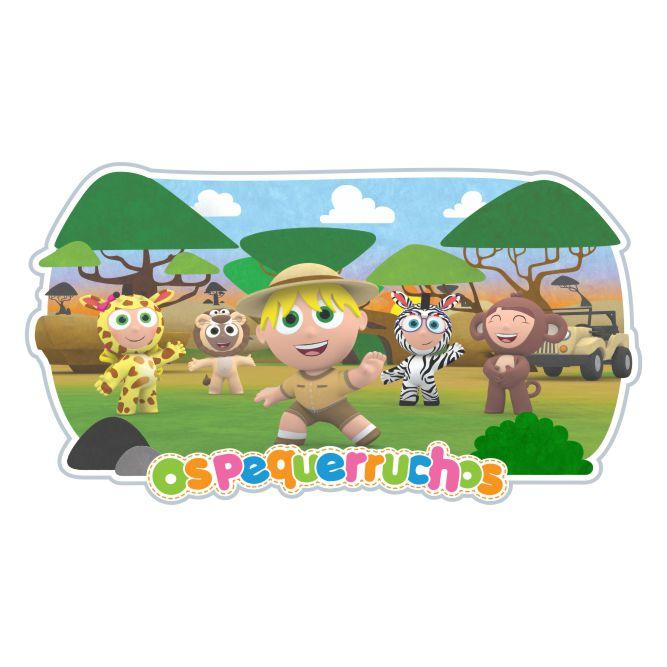 Brinquedo Quebra Cabeça Infantil em EVA com 25 peças grandes - Os Pequerruchos Safari
