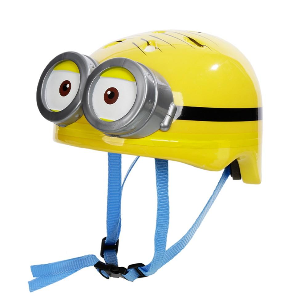Capacete Ajustável Minions Double Eye 3D