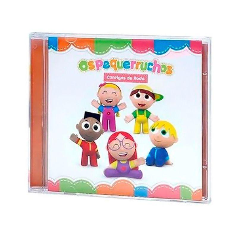 CD Os Pequerruchos - Cantigas de Roda
