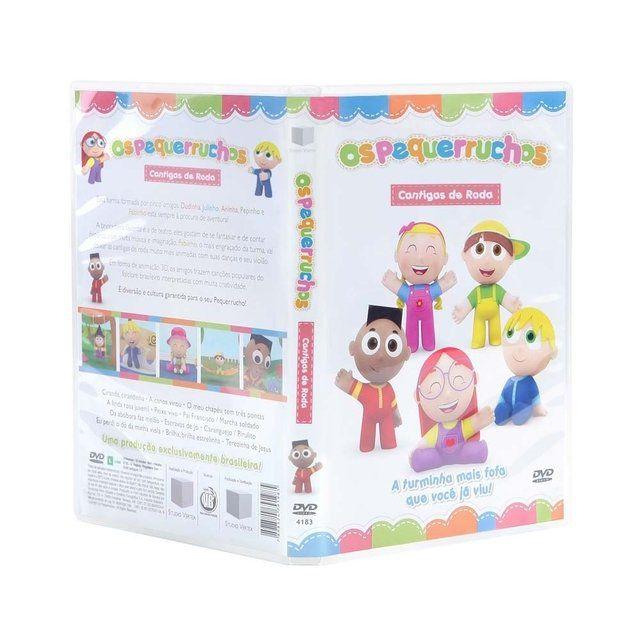 Coleção DVD Os Pequerruchos (3 vols)