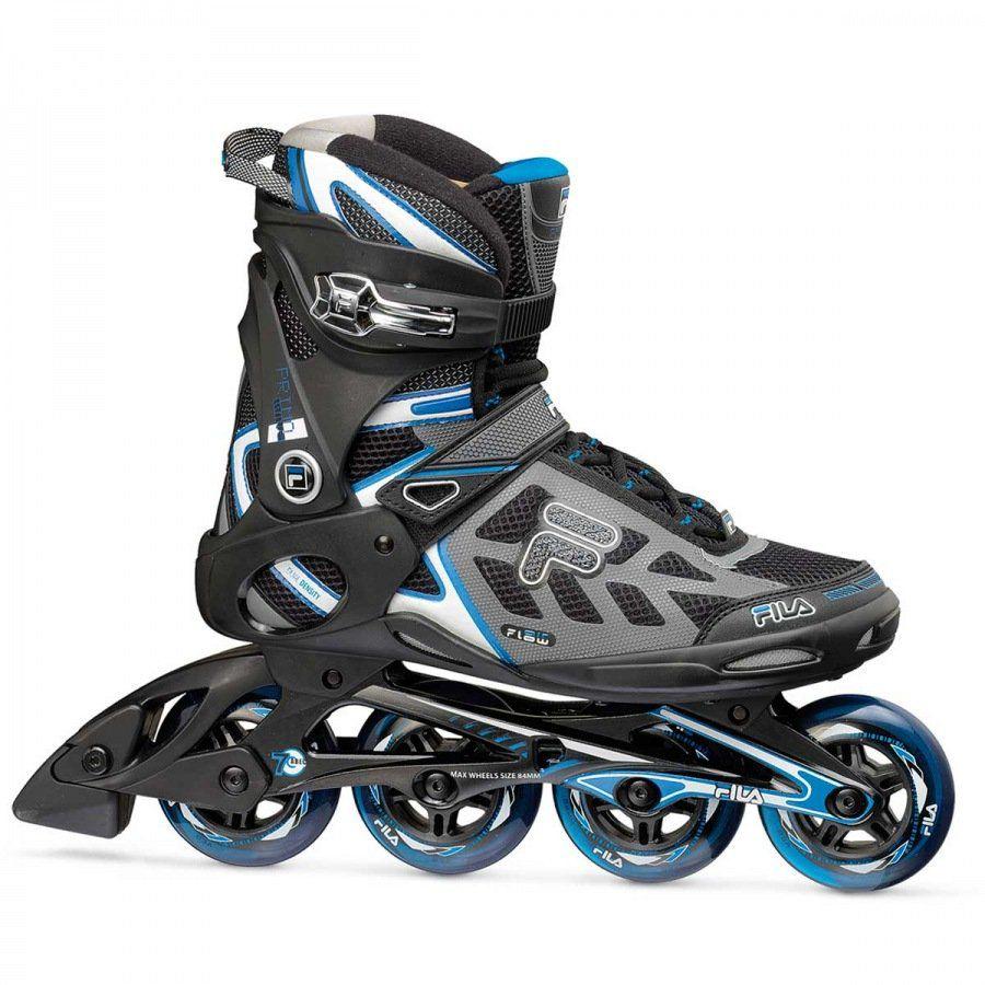 Combo Paizão Fila Skates Primo Air Wave + Kit de Proteção