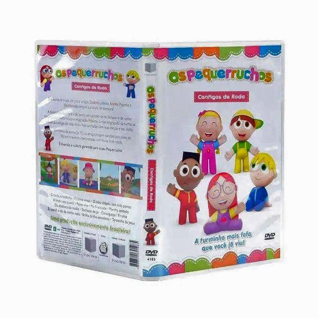 DVD: Os Pequerruchos Cantigas de Roda