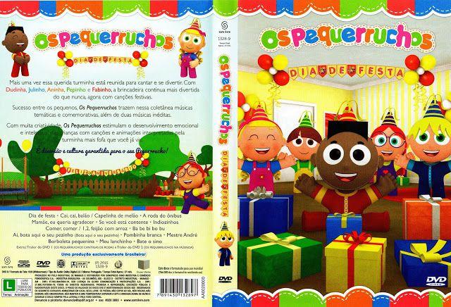 DVD: Os Pequerruchos Dia De Festa