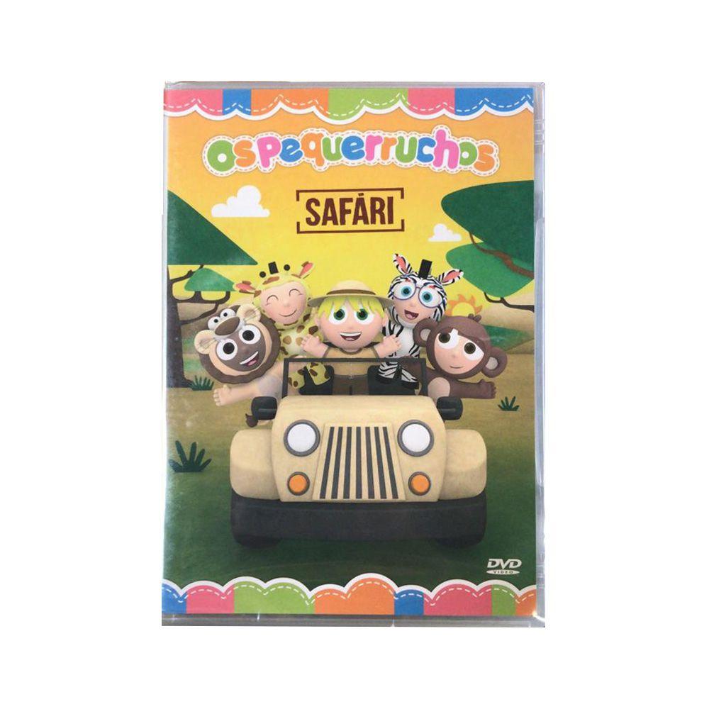 DVD: Os Pequerruchos Safari