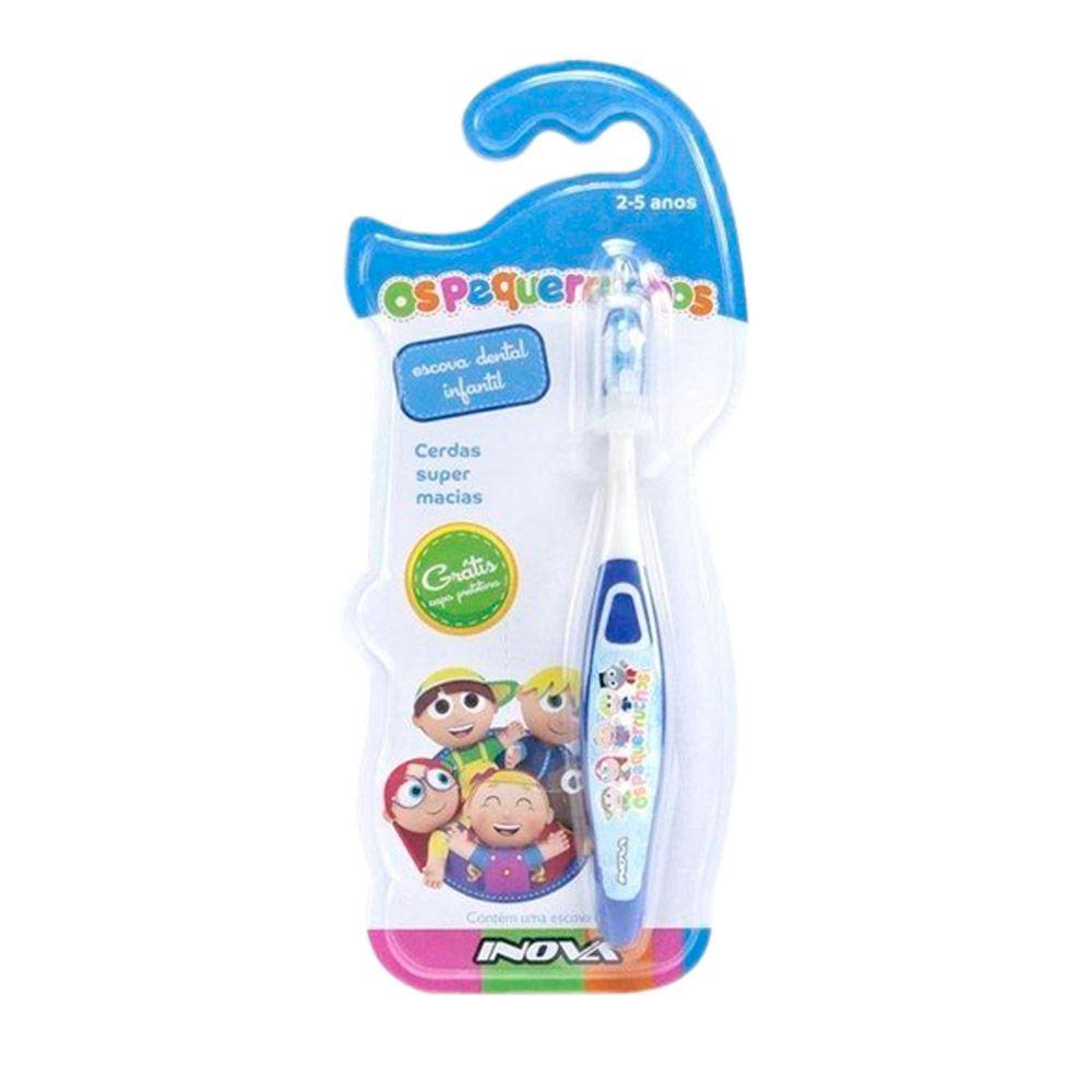 Kit com 10 Escovas de dentes - Os Pequerruchos
