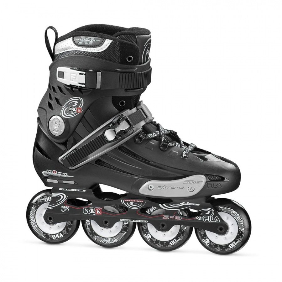 Patins Fila NRK Black 80mm/84A ABEC7