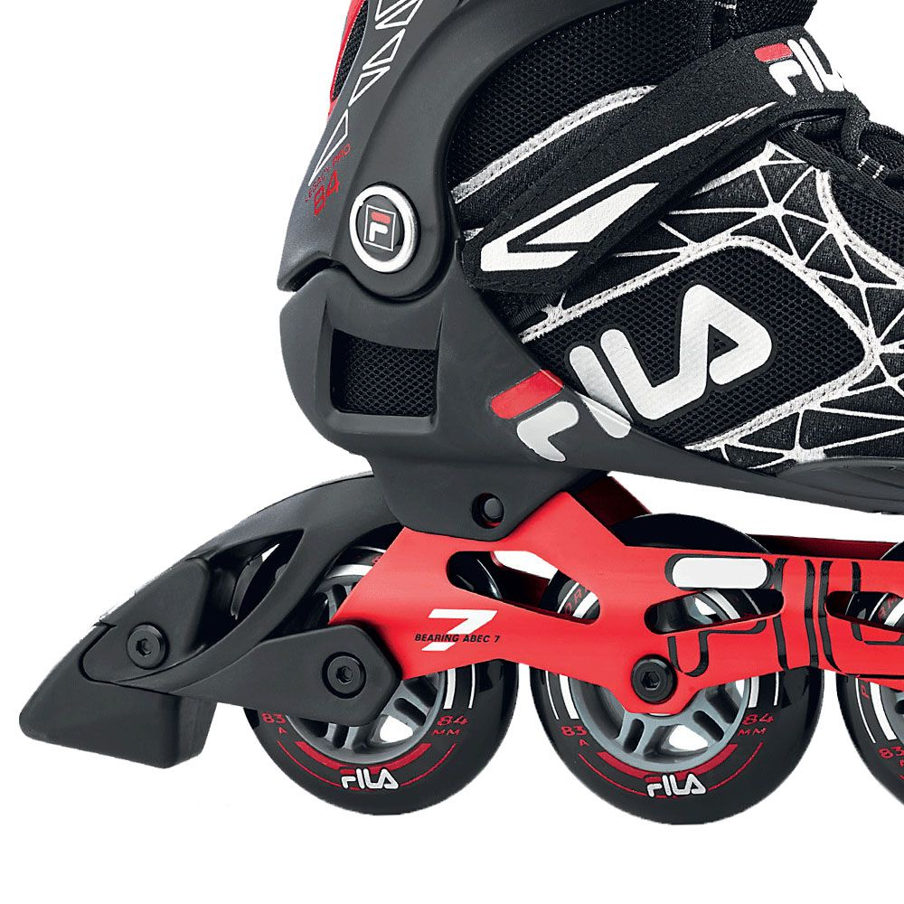 Patins Fila Skates Inline Legacy Pro 84 Com rolamentos Abec 7