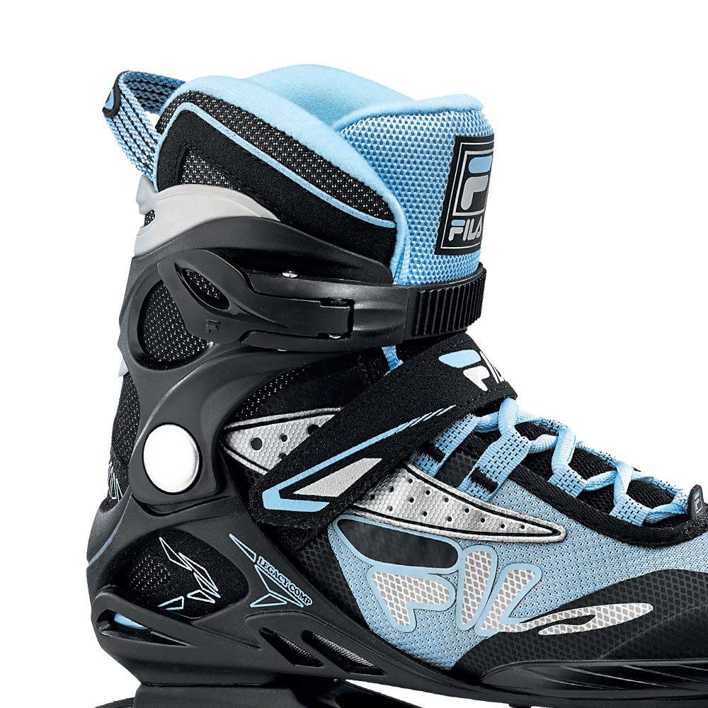 Patins Fila Skates Inline Legacy Comp Lady Com rolamentos Abec 5