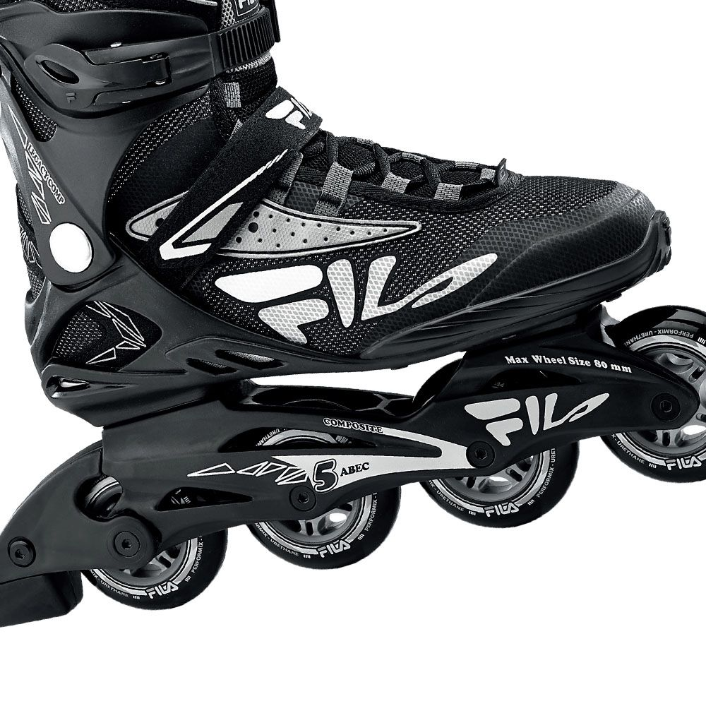 Patins Fila Skates Inline Legacy Comp Com rolamentos Abec 5
