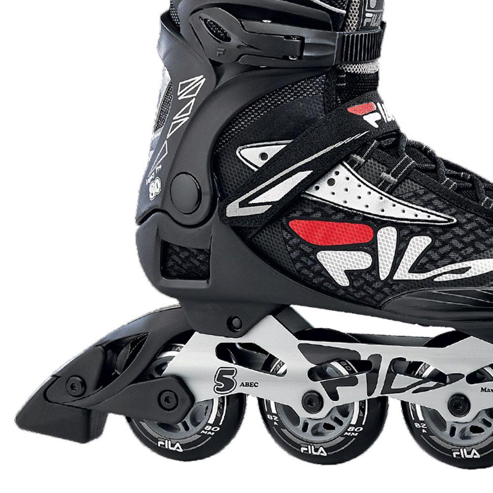 Patins Fila Skates Inline Legacy Pro 80 Com rolamentos Abec 5