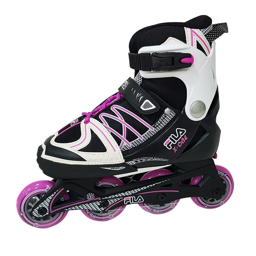 907aad0770669 Patins Infantil Ajustável Inline X-One Girl Fila Skates