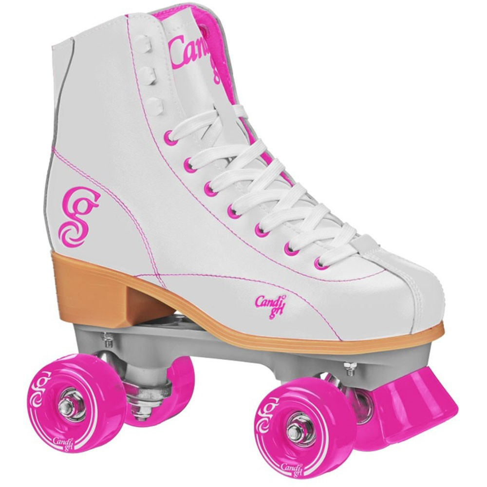 Patins Quad Elite Roller Derby Candi Girl Sabina White