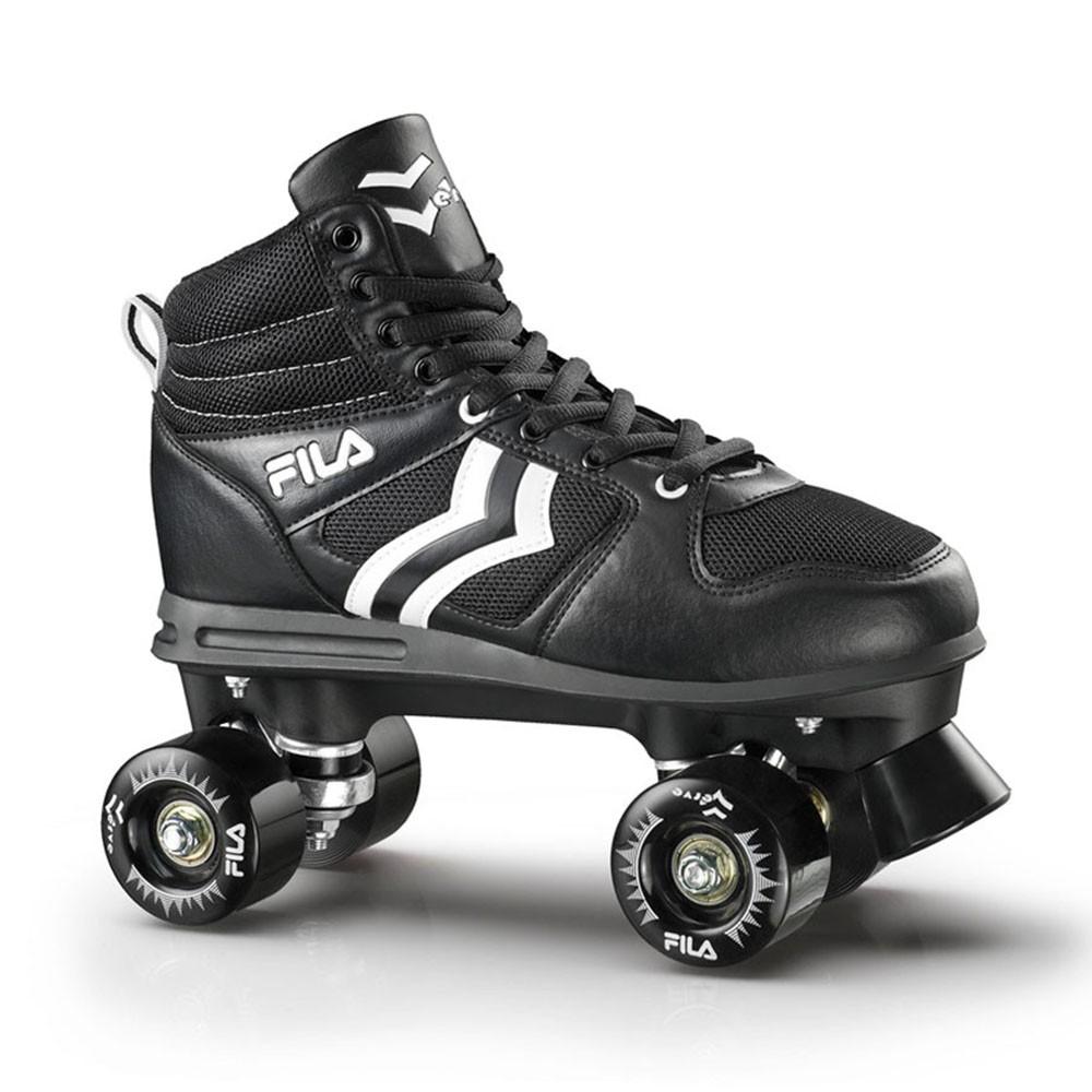 Patins Quad Fila Skates Verve Preto/Branco