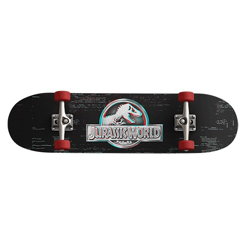 Skate Jurassic World Logo Glitch Maple 31 ' ABEC 5