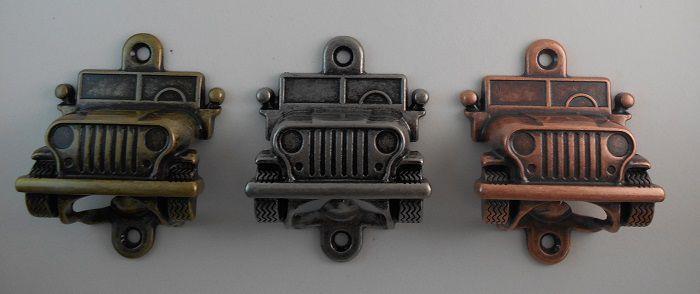Abridor de Garrafa - Modelo Jeep