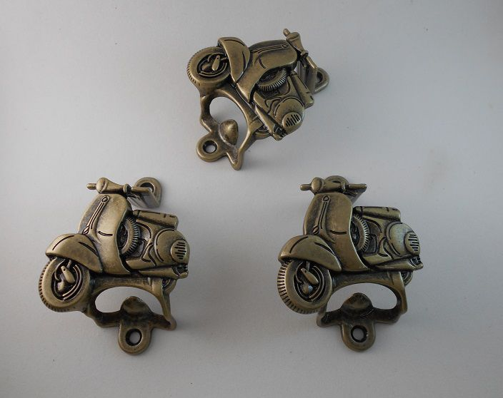Abridor de Garrafa - Moto Lambreta