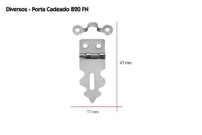 FECHO PORTA CADEADO 820