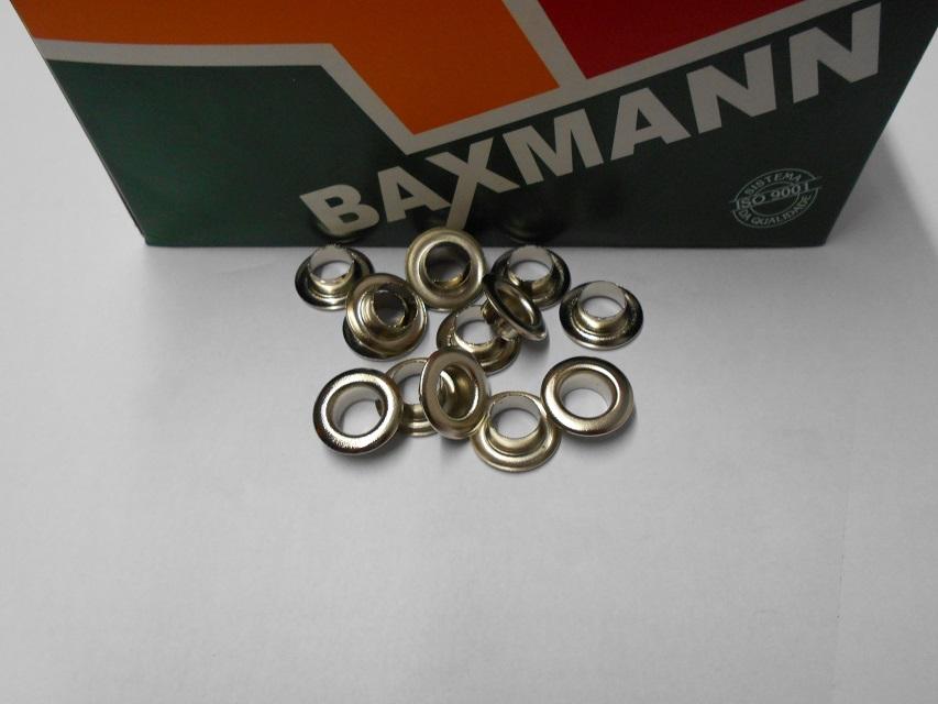Ilhos Baxmann 8 mm - Ref. 45 (pct. 1000 peças)