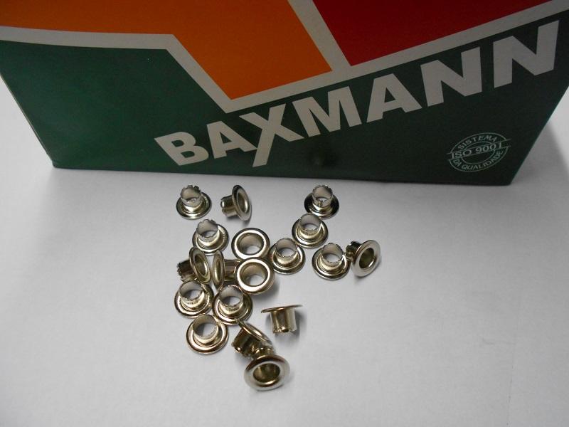 Ilhos Baxmann 5 mm - Ref. 51 (pct. 1000 peças)