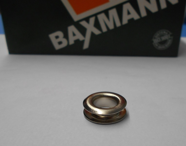 Ilhos Baxmann 10 mm - Ref. 0 ALTO (pct. 500 peças)