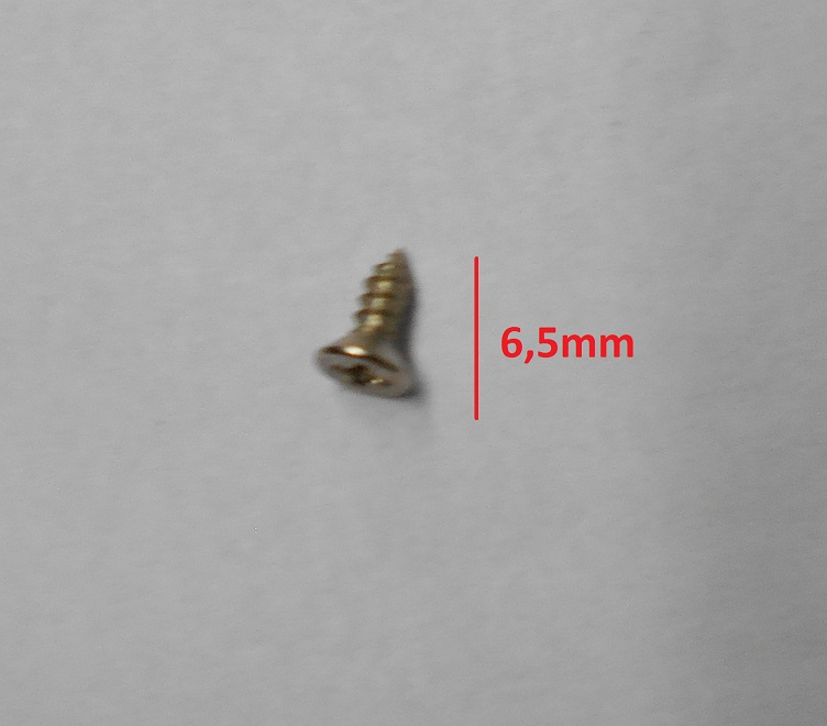 PARAFUSO  7,0x2,2 mm