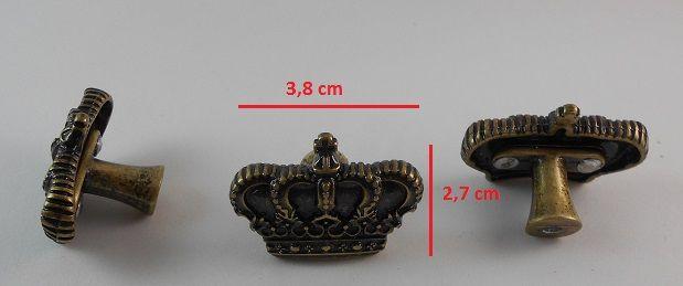 Puxador Coroa Ref. 1685