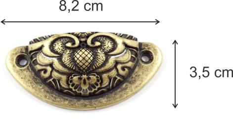 Puxador Tipo Concha Ref. 1655